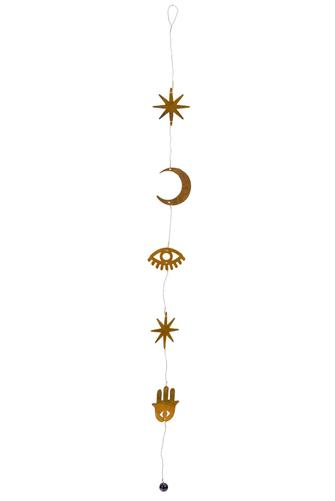 Lunar Light Hanging BRASS