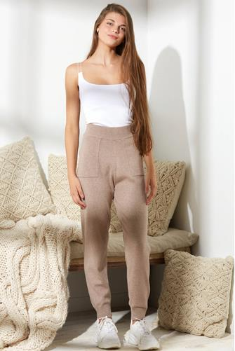 Soft Knit Sweater Pant OATMEAL
