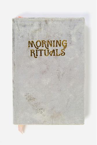 Morning Rituals Mindfulness Journal GREY