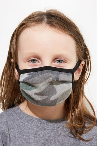 Kids Camo Face Mask CAMO