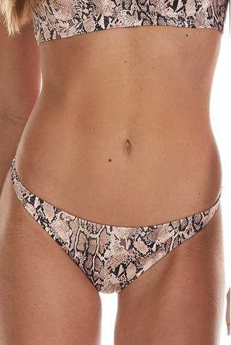 Snake Marlowe Bikini Bottom MULTI