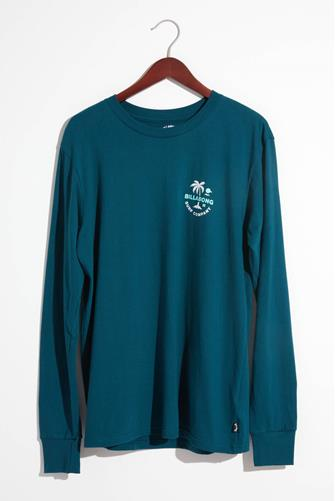 Vacation Long Sleeve Graphic Tee TEAL