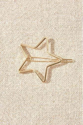 Gold Star Hair Clip GOLD
