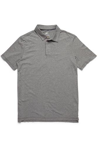 Heathered Polo GREY