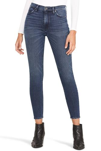 Barbara Hi Rise Skinny Ankle Jean DARK-DENIM