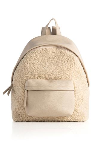 Astrip Sherpa Backpack IVORY