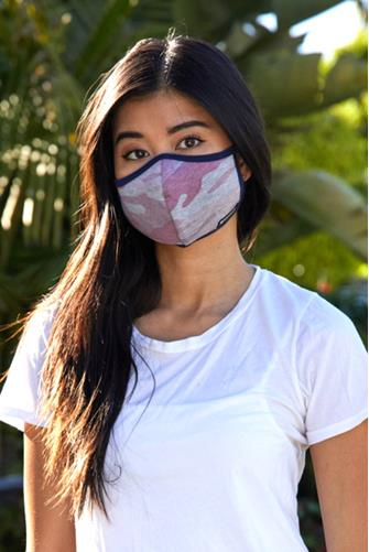 The Pink Camo Face Mask PINK MULTI -