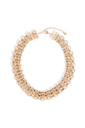 Collar Statement Necklace GOLD