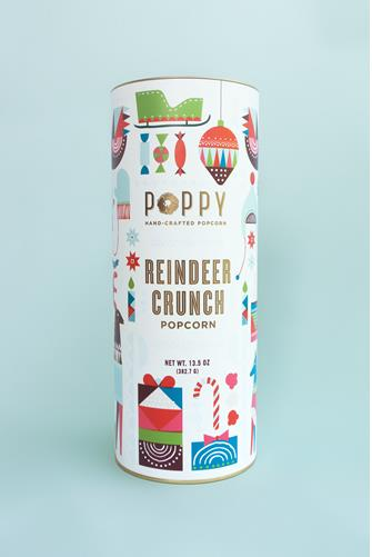 Reindeer Crunch Popcorn WHITE-MULTI--