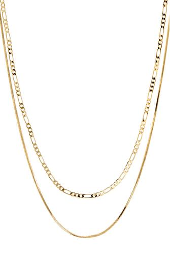 Gold Cecilia Chain Necklace GOLD