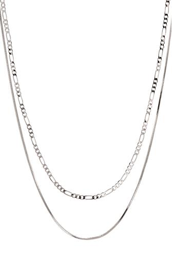 Silver Cecilia Chain Necklace SILVER