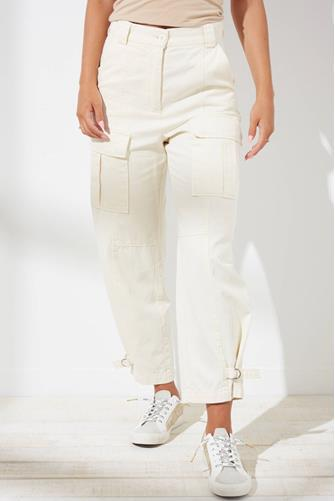 Morgan Cargo Pant OFF-WHITE