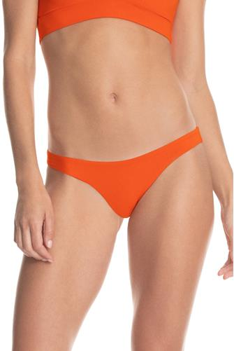 Ginger Orange Flirt Reversible Bikini Bottom ORANGE