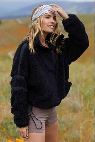 Nantucket Fleece BLACK