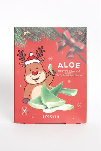 The Fresh Mask Sheet Aloe Set RED