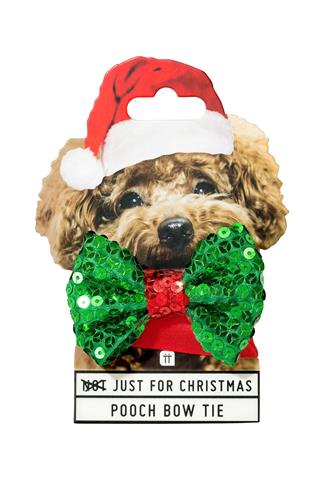 JUST FOR CHRISTMAS DOG BOW TIE MULTI