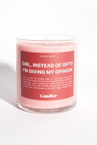 Instead Of Gifts Candle 9 oz. PINK