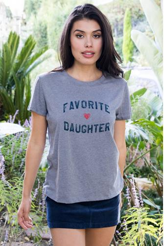 Favorite Daughter loose Tee GREY