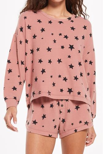 Bridgette Star Top PINK MULTI -