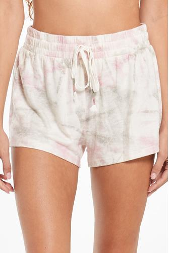 Seaside Tie Dye Short WHITE MULTI -