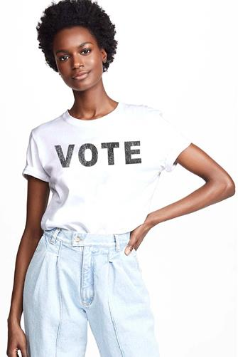 Vote Graphic Tee WHITE