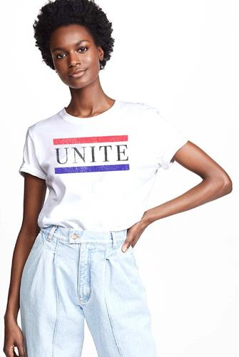 Unite Graphic Tee WHITE