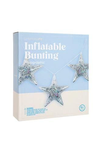 Inflatable Star Ornaments SILVER
