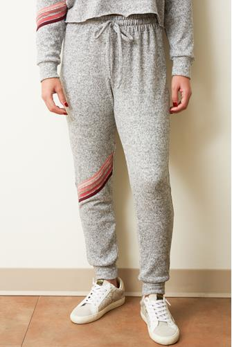 Grey Stripe Jogger GREY MULTI -