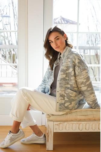 Maya Dusty Sage Camo Jacket CAMO