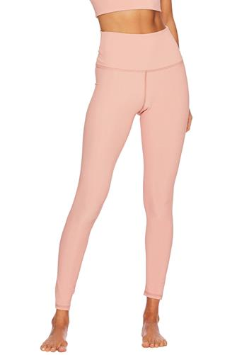 Pink Ribbed Ayla Leggings PINK
