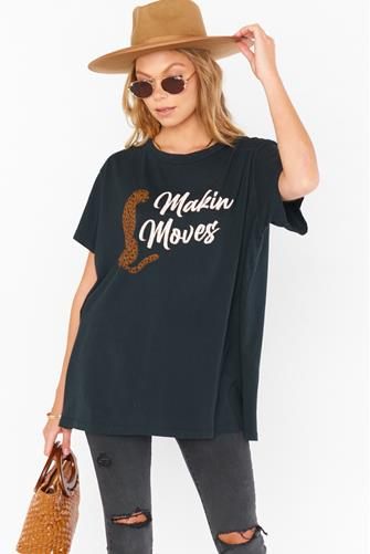 Makin Moves Airport Tee BLACK