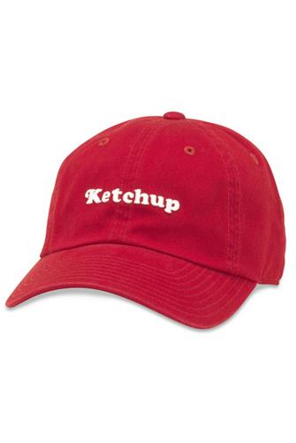 Ketchup Hat RED