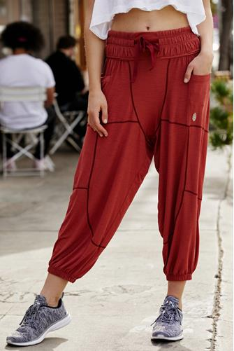 Light As A Feather Harem Pant RED