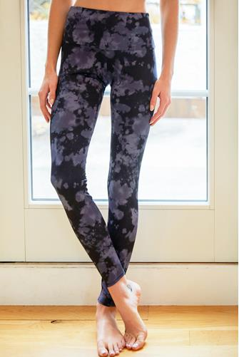 Amethyst Tie Dye High Rise Leggings MULTI