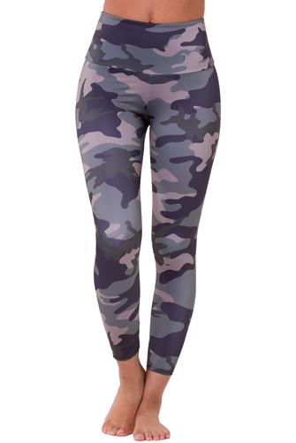 Combat Camo High Rise Midi Leggings MULTI