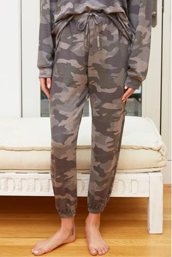 Combat Camo Fleece Sweatpant MULTI