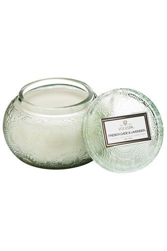 French Cade Lavender Chawan Bowl Candle 14 oz. MINT-GREEN