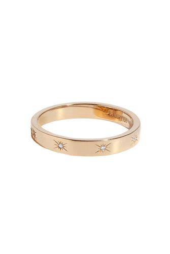 Starlight Band Ring 3MM GOLD