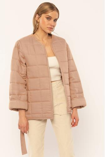 Rilo Quilted Jacket TAUPE