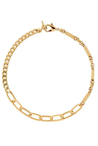 Louie Chain Necklace GOLD