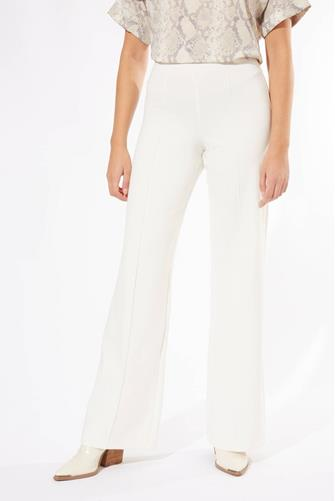 Pull-On Knit Flared Pant IVORY