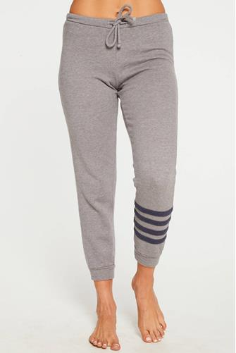 Cashmere Fleece Slouchy Jogger GREY