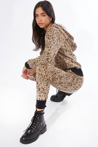 Brown Leopard Jogger BROWN-MULTI--