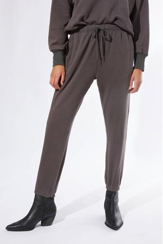 Front Tie Jogger CHARCOAL