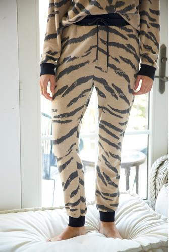Tiger Front Tie Jogger MULTI