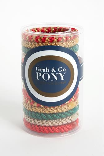 Merry Grab & Go Pony Tube RED-MULTI--