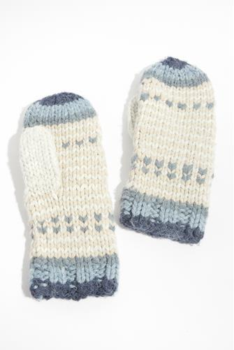 Cottage Ski Mittens BLUE MULTI -