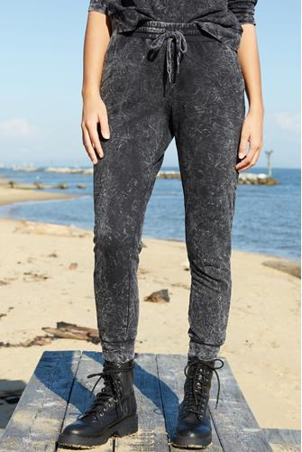 Fade Out Jogger BLACK