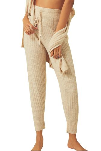 Around The Clock Thermal Jogger OATMEAL