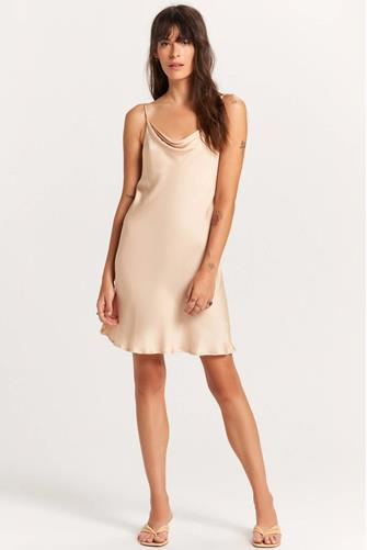 Champagne Slip Dress  CHAMPAGNE